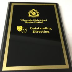 Outstanding Directing Plaque