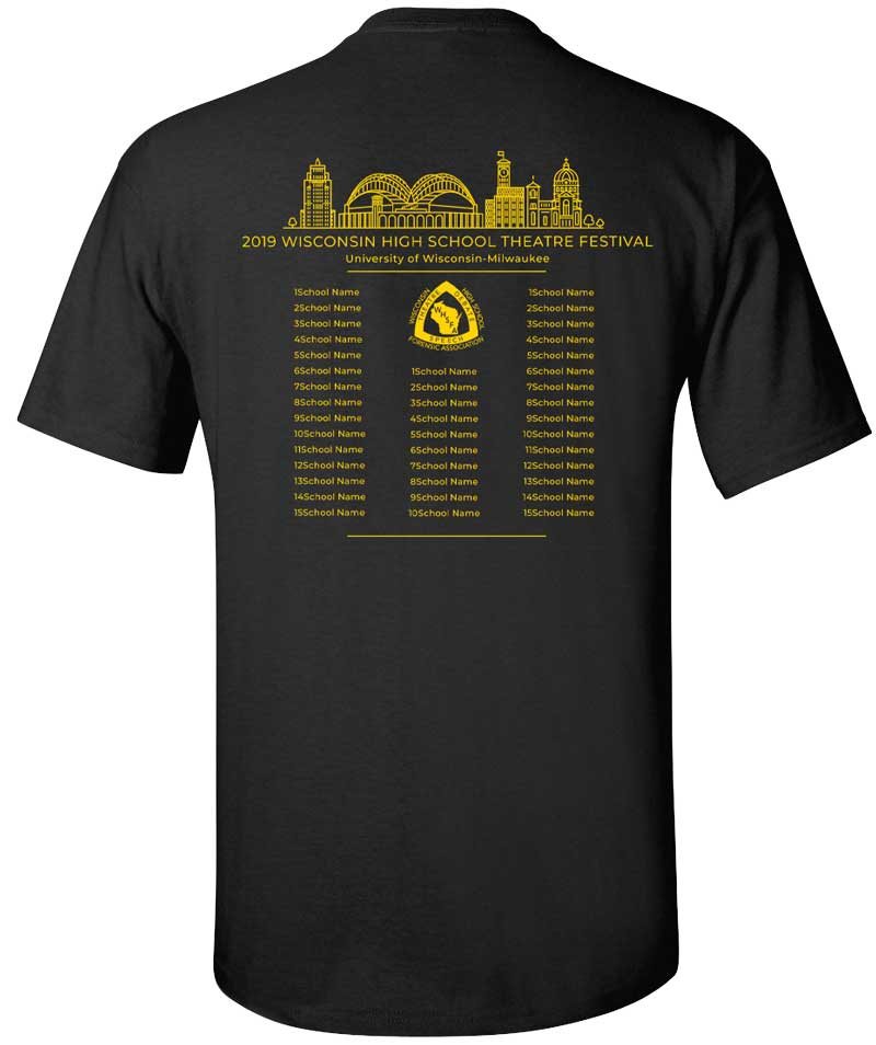 2019 Theatre T-Shirt (Back)