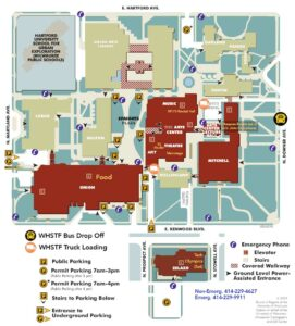UW-Milwaukee Campus Map