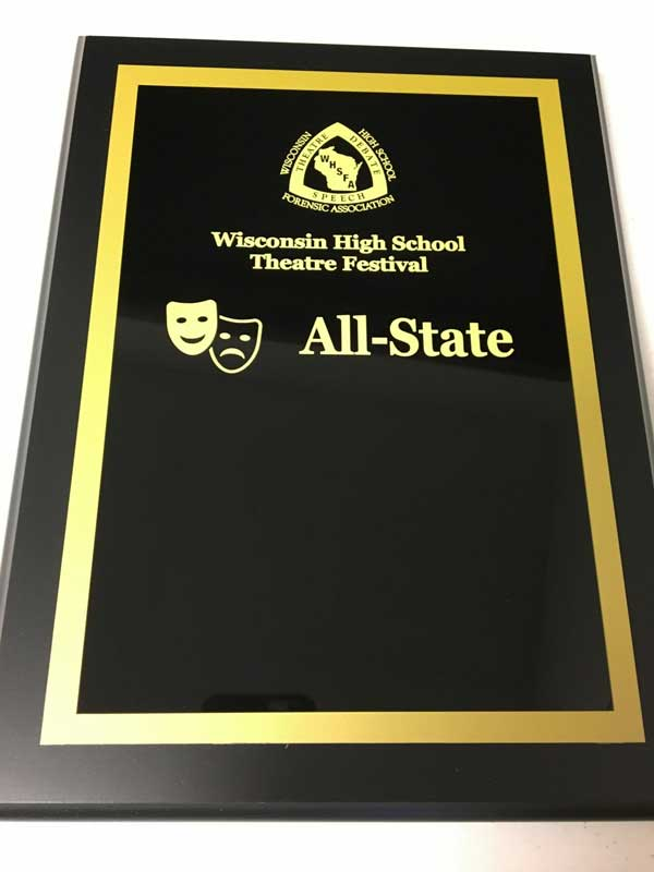 All-State plaque